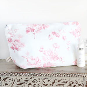 Adelaine Wash Bag - Cheverny Pink - Meg Morton
