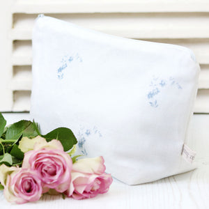 Amelie Wash Bag - Loire Blue - Meg Morton