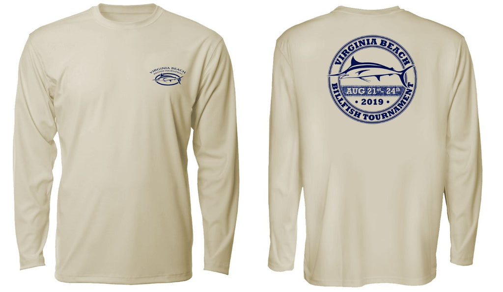 2019 Long Sleeve Crew Neck Performance Tee
