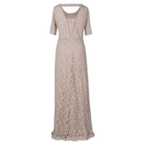 Plus Size Long Lace Dress
