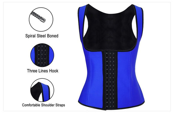 Waist Training Corset - 9 Steel Boned - Lolipop Shop
