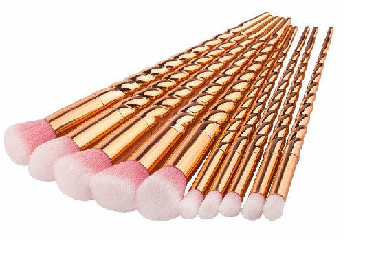 NEW! Twirl Collection Makeup Brushes Rose Gold