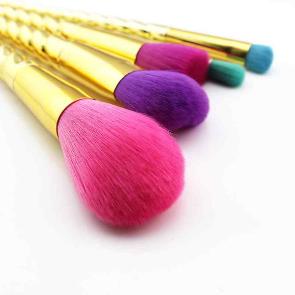 Unicorn Makeup Brushes With Pouch Bag
