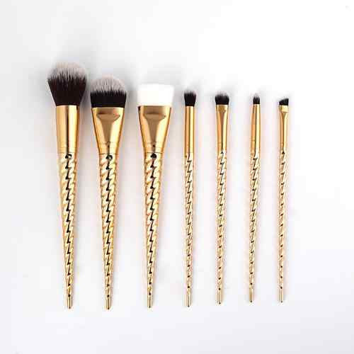 Rose Gold Unicorn Makeup Brushes
