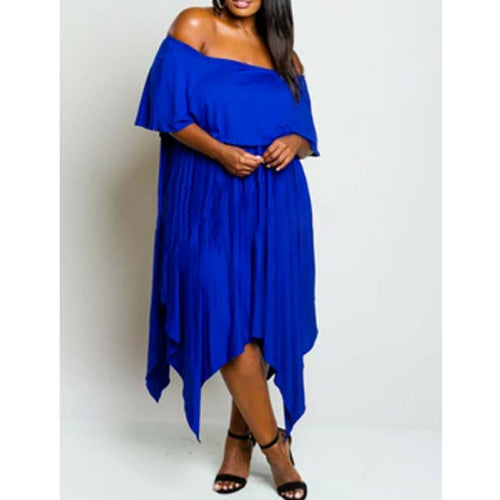 Plus Size Long Maxi Dresses