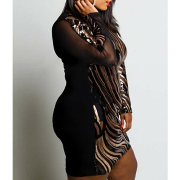 Plus Size Cocktail Dress