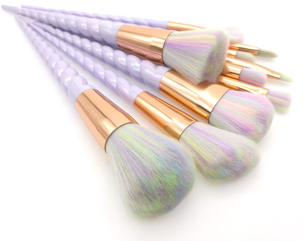 Rainbow Unicorn Makeup Brushes