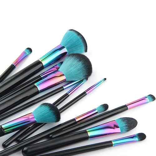 High Quality Makeup Brush Set - 7/12 pcs