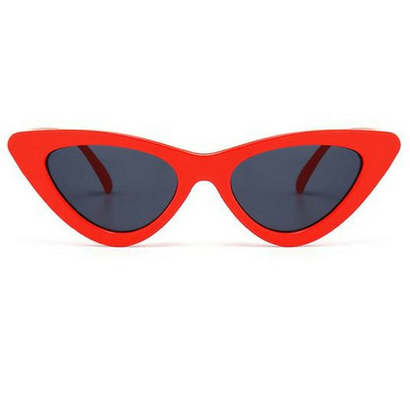 Red Vintage Cat Eye Sunglasses