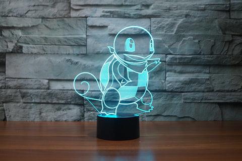 squirtle led lamp