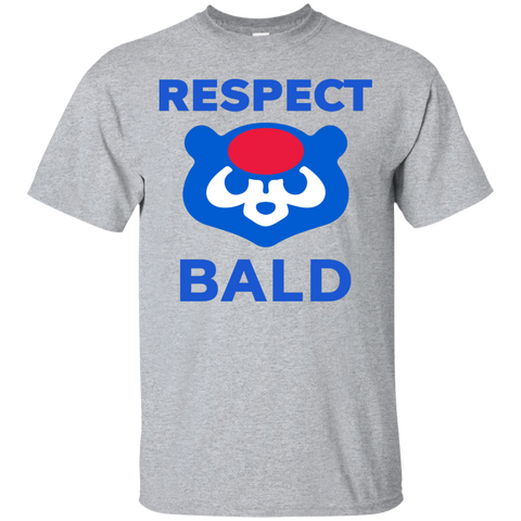 respect bald cubs shirt