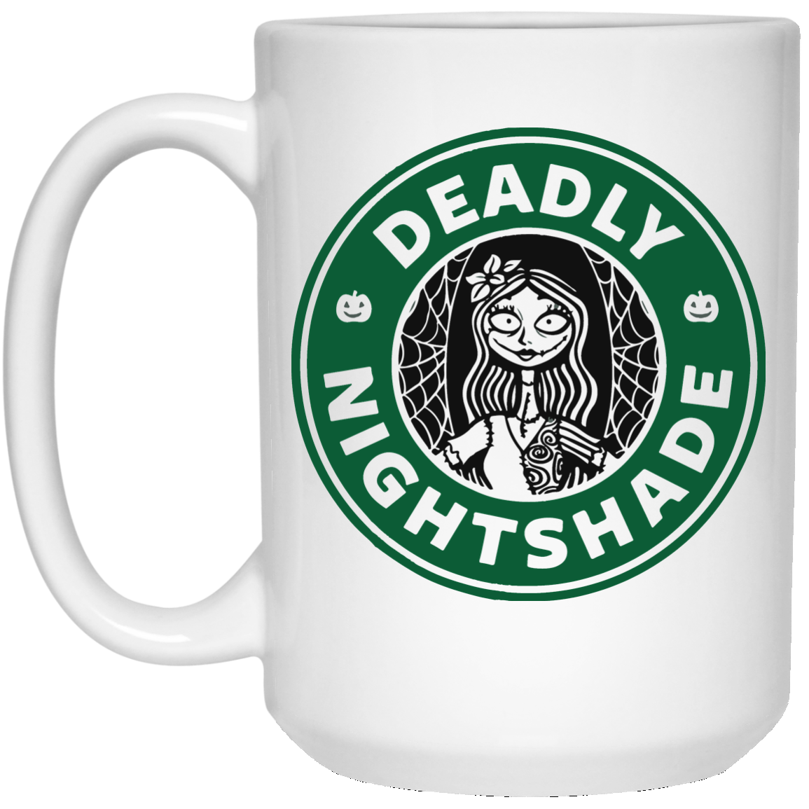 Deadly nightshade mugs: Sally Nightmare Before Christmas - iFrogTees