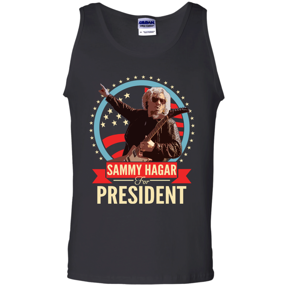 81d2091052662 Sammy Hagar for President Shirt Hoodie Tank - iFrogTees