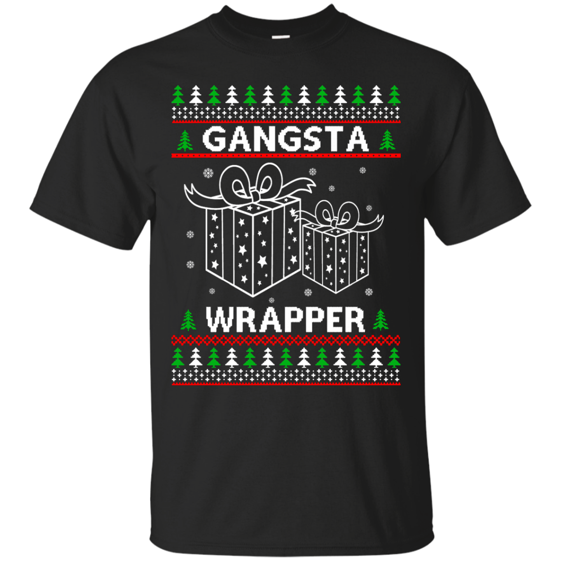 Gangsta Wrapper Ugly Christmas Sweater, Shirt, Hoodie