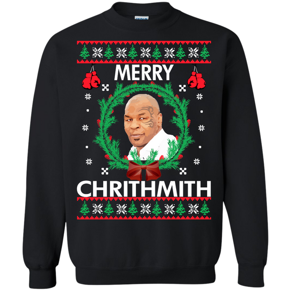 Mike Tyson Merry Christmas.Mike Tyson Merry Chrithmith Sweater