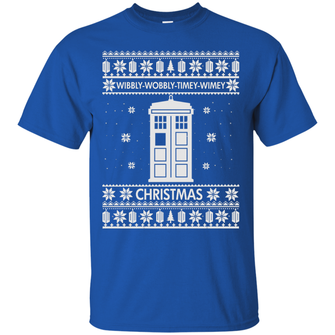 6c48810d6 Doctor Who Christmas Sweater, Shirt - Wibbly Wobbly Timey Wimey ...