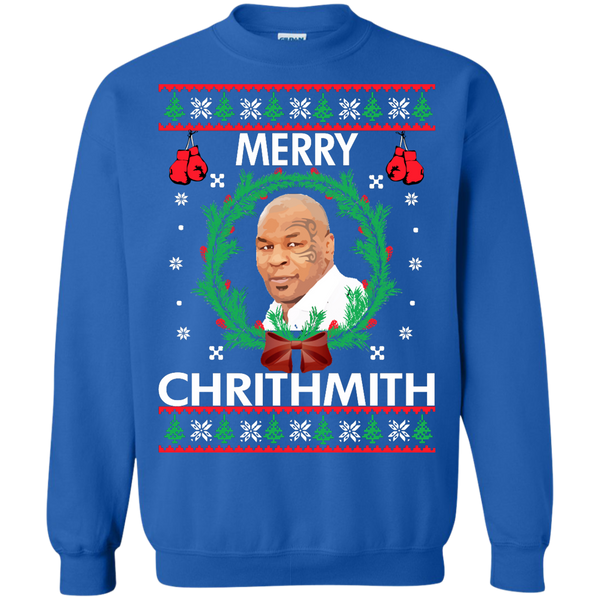 Mike Tyson Merry Chrithmith Christmas Sweater Chrithmith