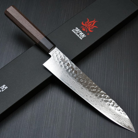 Kanetsune Seki Traditional Damascus AUS-10 Gyutou 210mm KC-912