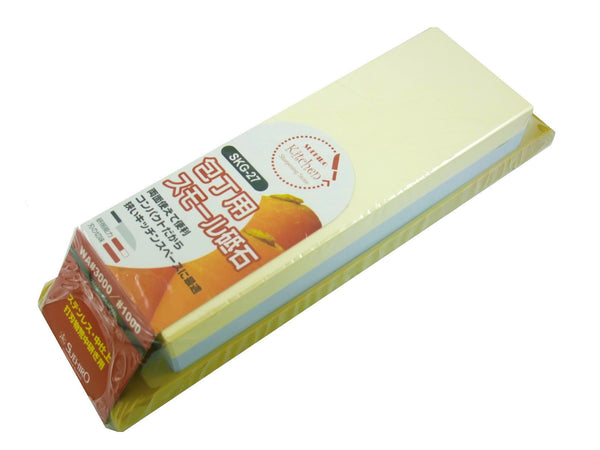 SUEHIRO Ceramic Small Dual Whetstone for Kitchen Knives #3000/1000 SKG-27