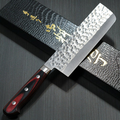 KATO Martillado Super Oro 2 Cuchillo Nakiri 165mm