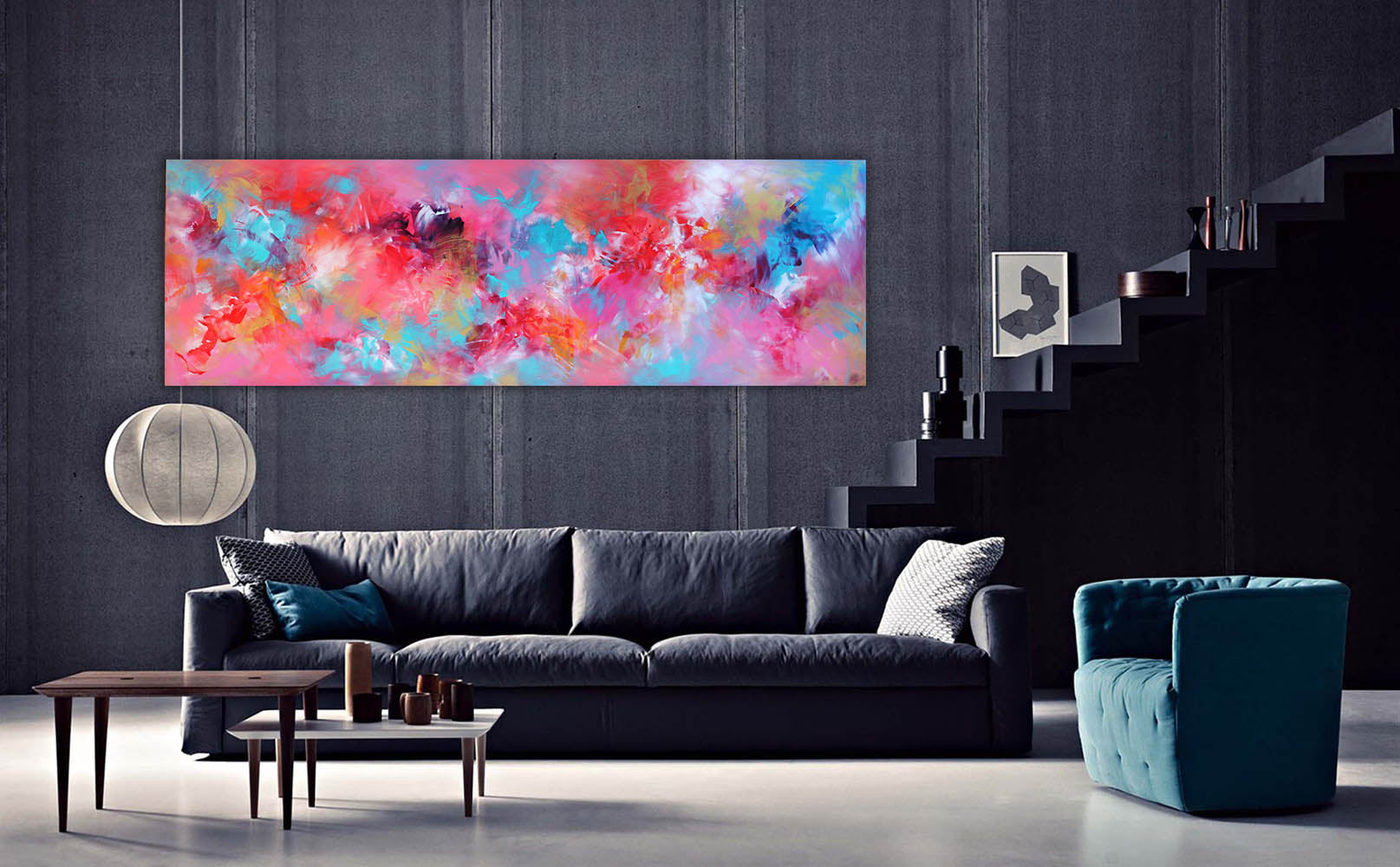 extra large abstract paintings