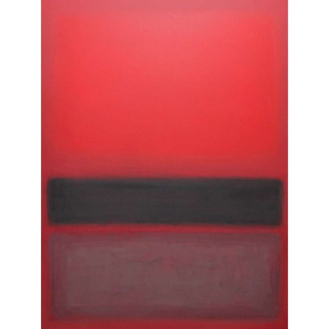 red rothko artwork