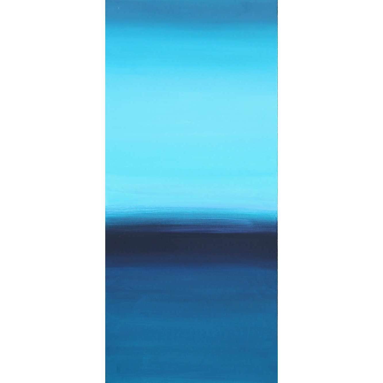 blue canvas art