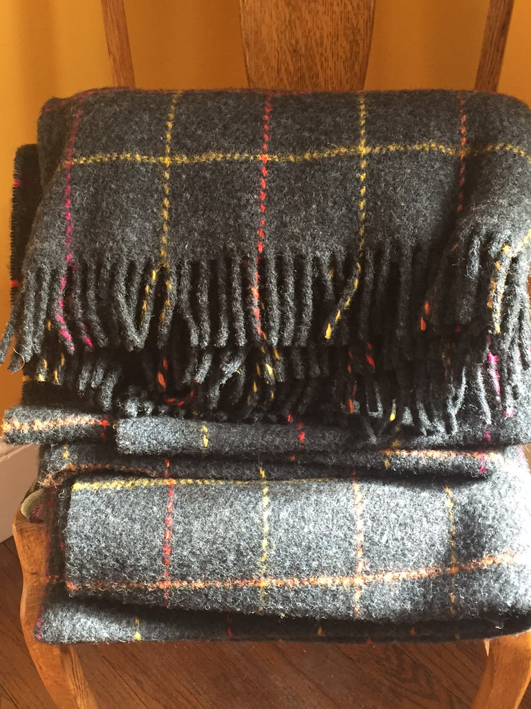 Irish Woolen Blankets by McNUTT of Donegal