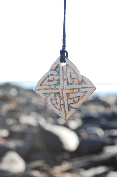 Celtic Square Pendant