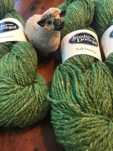 * Irish Yarns -Soft Studio Donegal in 4 Colors