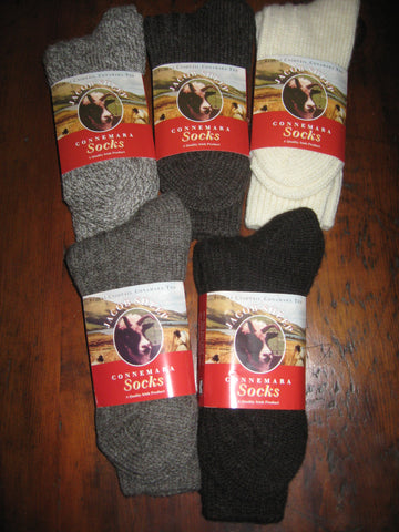 Connemara Jacob Wool Socks