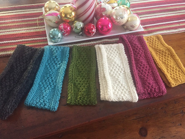 *Handknit Woolen Headbands from Bere Island, Co. Cork