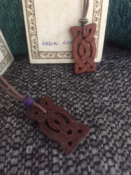 Celtic Eternal Knot Necklace