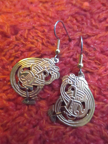 Book of Kells Filigree Earrings
