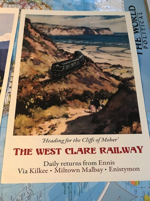 West Clare Railway Travel Poster