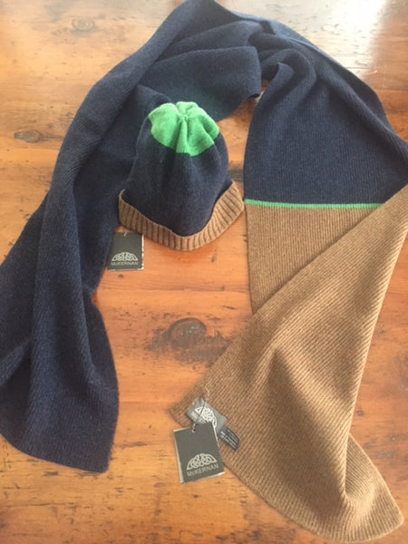Buster Scarf and Hat by McKernan Woolen Mills ON SALE