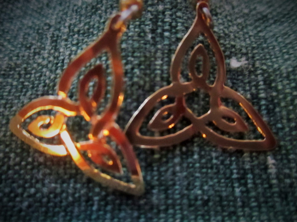 Trisket Celtic Earrings