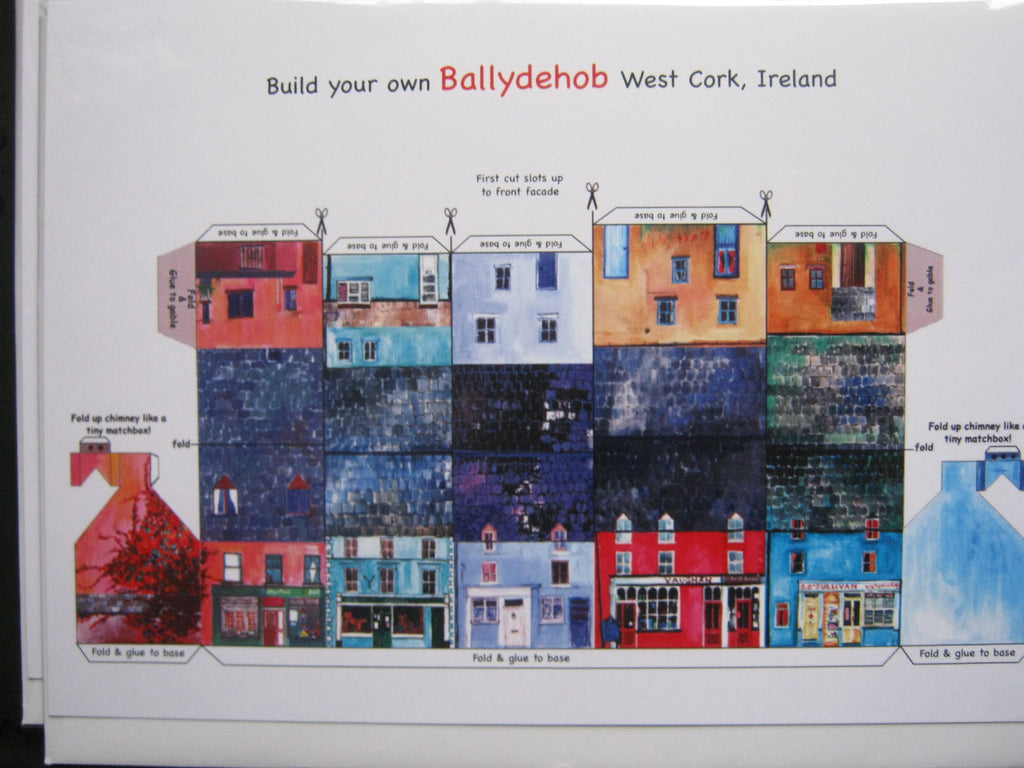 Ireland Tiny Town Cards - Ballydehob