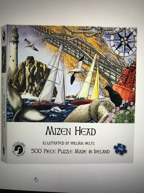 **New Jigsaw Puzzles-Made in Ireland - 3 Designs