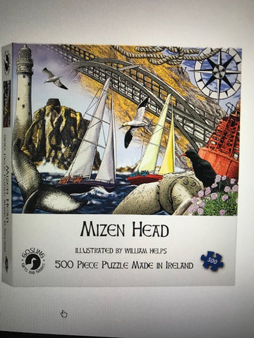 *New Jigsaw Puzzles-Made in Ireland - 3 Designs