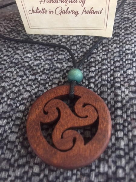 Celtic Trisket  Necklace
