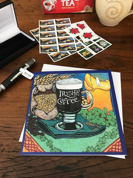 **Irish Recipe Greeting Cards - In 3 Designs