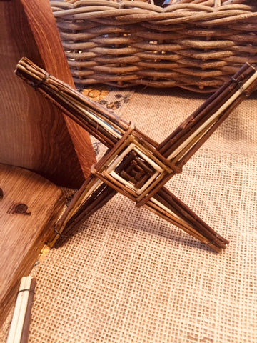 Spiddal, Co Galway  handcrafted St. Brigid Cross