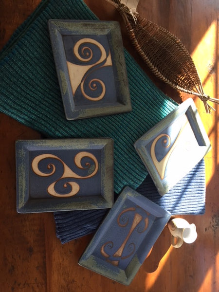 Ballymorris Blue Pottery Dishes