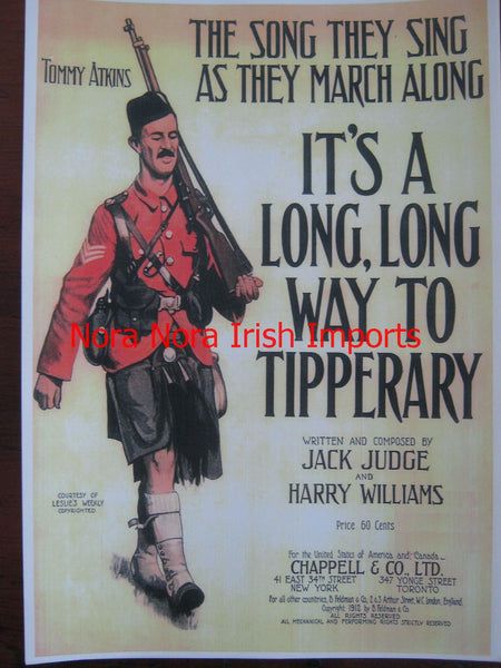It's A Long, Long Way To Tipperary Print