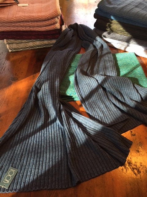 Limited Edition Ribbed Shawl from Tuamgraney, Co.Clare
