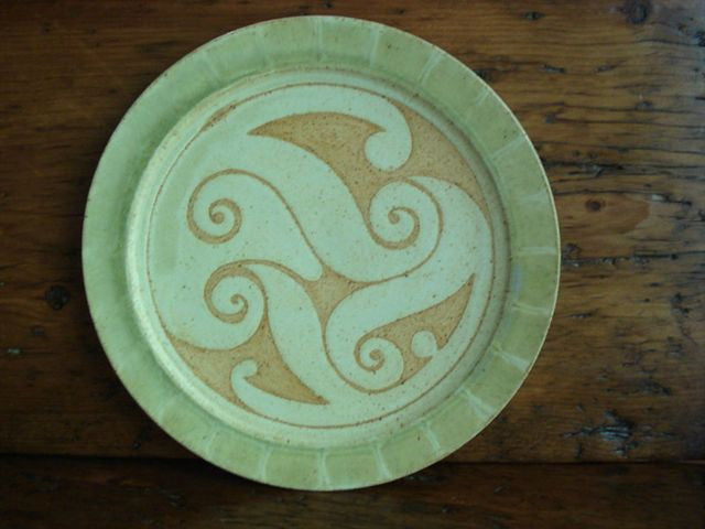 Ballymorris Pottery Plate