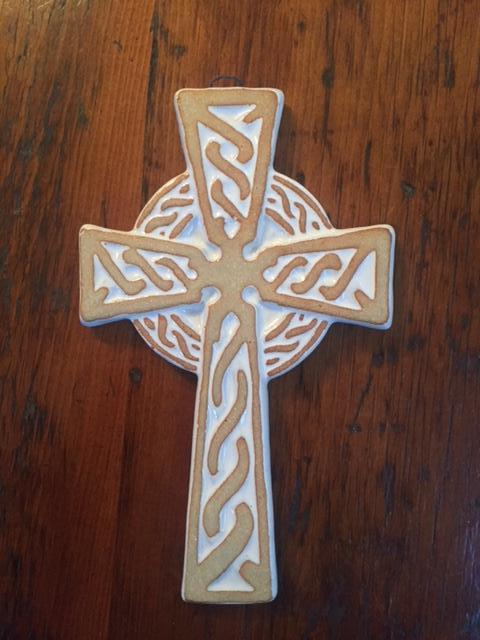 Celtic Cross by Ballymorris Pottery