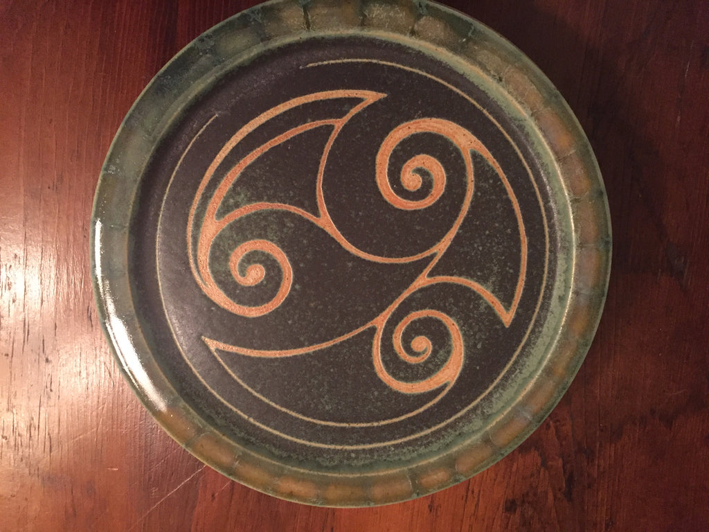 *Ballymorris Pottery Plate