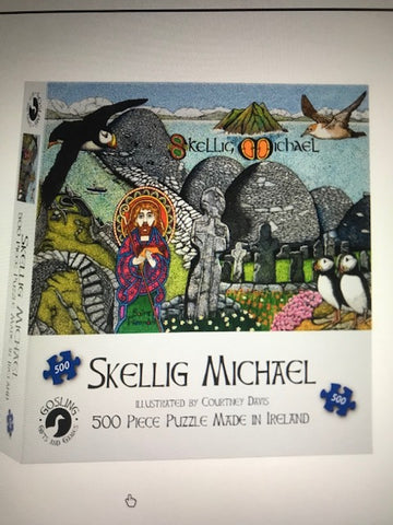 New Jigsaw Puzzles - 3 Designs and A Celtic Coloring Book